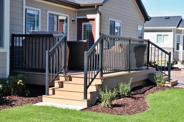 Aluminum Railings in Utah | Boyd's Custom Patios